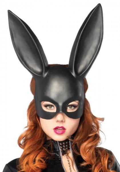 Hasenmaske Black Bunny Leg Avenue 0195